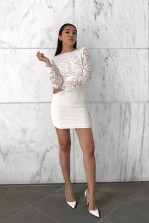 TFNC Seraphina White Dress
