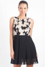 TFNC Sandy Embellished Fit and Flare Dress