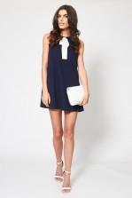 TFNC Milia Blue Bow Dress