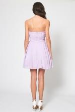 TFNC Minnie Lilac Bandeau Dress