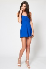 TFNC Staley Blue Playsuit