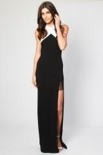 TFNC Nouska Black Maxi Dress