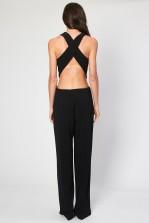 TFNC Janel Black Jumpsuit