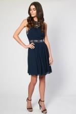 Lace & Beads Mitchigan Navy Dress