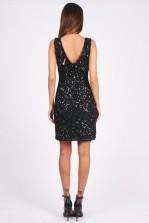 Lace & Beads Ohio Black Embellished Dress