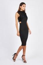 TFNC Tiffany Black Midi Dress