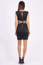 TFNC Nilia Black Mini Dress