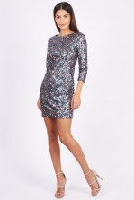 TFNC Paris Multi Sequin Dress