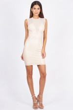 TFNC Samantha Pink Mini Dress
