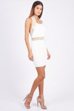 TFNC Jen White Dress