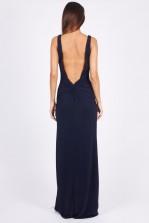 TFNC Fatima Navy Maxi Dress