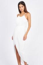 TFNC Zeus White Dress