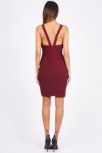 TFNC Kathleen Wine Dress
