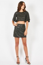 TFNC Aline Black Skirt