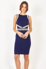 TFNC Ann Navy Dress