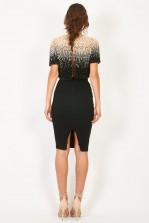 Lace & Beads Jenny Black Top