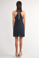 Lace & Beads Kandi Navy Embellished Dress
