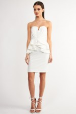 TFNC Cella White Dress