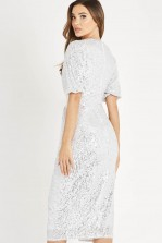 TFNC Winik Sequin Midi Dress