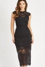 TFNC Ysanne Grey Midi Dress