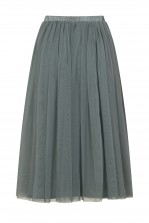 Lace & Beads Val Grey Skirt