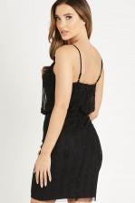 Lace & Beads Keeva Black Mini Dress