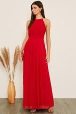 TFNC Serene Red Maxi Dress