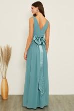 TFNC Kily Native Green Maxi Dress