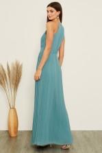 TFNC Serene Native Green Maxi Dress