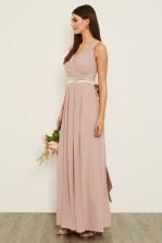 TFNC Kily Pale Mauve Maxi Dress