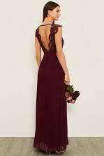 TFNC Shannon Grape Wine Maxi Dress