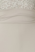 TFNC Centurion Grey Maxi Dress