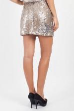 TFNC Medo Two-Tone Sequin Skirt