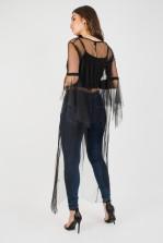 Lace & Beads Rio Black Dress