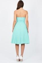TFNC Debutante Aqua Midi Dress