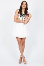 TFNC Sarah White Dress