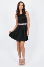 TFNC Vania Black Dress
