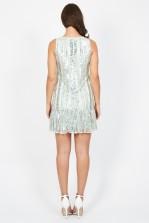 Lace & Beads Hilton Mint Embellished Dress