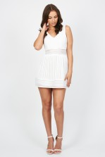 TFNC Marella White Dress