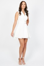 TFNC Harley White Dress
