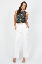 TFNC Cheryl White Trousers