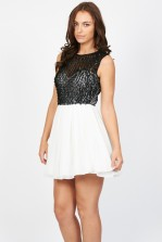 TFNC Cuba Black Dress