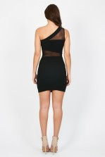 TFNC Nuvola Black Dress
