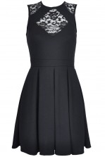 TFNC Diva Lace Fit and Flare Dress
