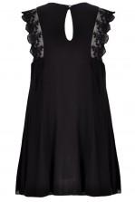 TFNC Michelle Lace Shoulder Swing Dress