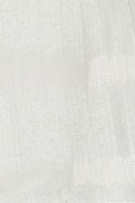 TFNC Gabbie White Crop Top