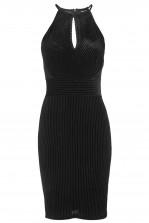 TFNC Loelia Black Velvet Dress