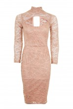 TFNC Tessa Taupe Dress