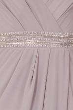 TFNC Violet Grey Maxi Embellished Dress