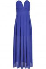 TFNC Nelle Plunge Maxi Dress